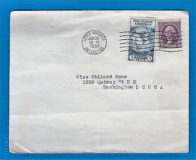 Byrd Antarctic Expedition II, Little America, SFO, Official Cachet Cover