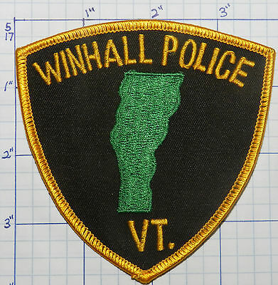Vermont, Winhall Police Dept Version 1  Patch
