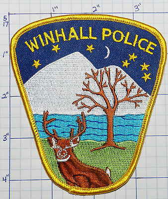 Vermont, Winhall Police Dept Version 2  Patch