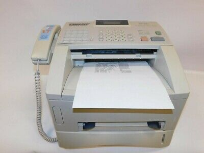 Brother Fax4100E Intellifax 4100E Page Count Less Than 1100 W/ Toner Fax Machine