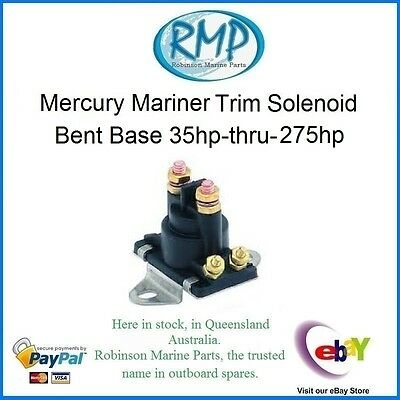 A Brand New Trim Solenoid Mercury Mariner 35hp-thru-275hp # 89-96158