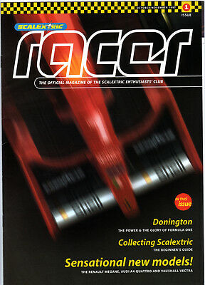Scalextric Racer Magazine  - Various Issues Available