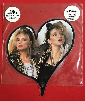 MADONNA -Into The Groove- UK Shaped Picture Disc/Stickered Slv. (Vinyl Record)