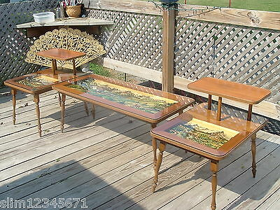 Black Forest Night Stands Plus Coffee Table Set Nice L@@K