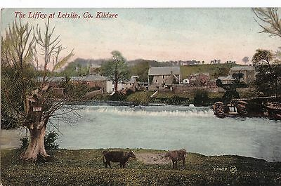 lo irish postcard ireland kildare lexlip