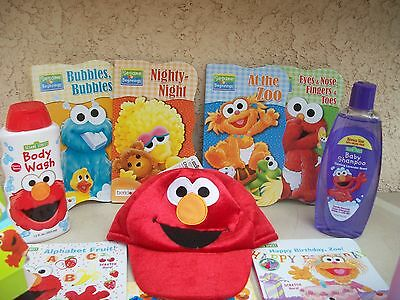 Lot Of Baby Toddler & Little Boys Or Girls Goodies Gifts All Sesame Street