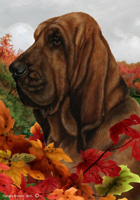 Large Indoor/Outdoor Fall Flag - Bloodhound 13073
