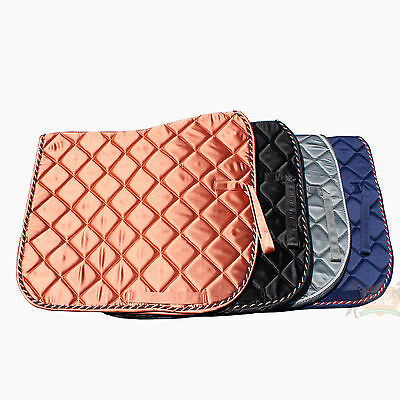 SADDLE PAD HORSE, NUMNAH, CLOTH Full NEW. Soft Luxury Quilted and Padded