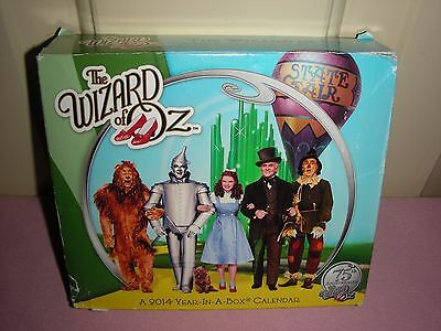 The Wizard of Oz - A 2014 Year-In-A-Box Calendar (in opened box)
