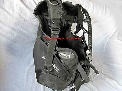 Mares Frontier Expedition BC BCD mens size LARGE, excellent material condition