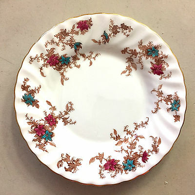 Ancestral Minton Bone China S376  England Swirl  1 Bread & Butter Plate  6 1/8""