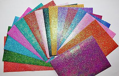 15 Sheets Chinese Rainbow Shimmery Paper /B