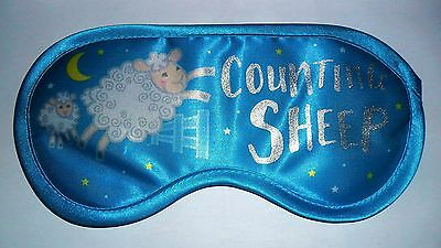 Brand New Eye/Sleep Mask (Blue - Counting Sheep)