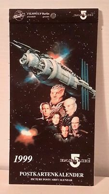 BABYLON 5 - Postkarten-Kalender - limited of 1500 RAR!