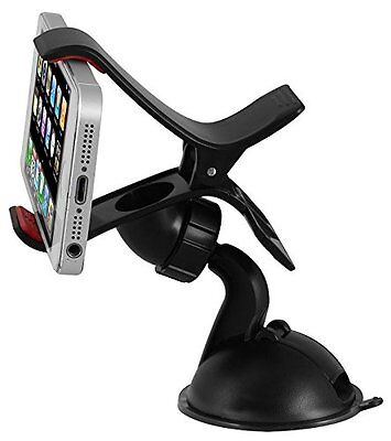 XtremeAuto® Clip 'N' Go Universal Car Mobile Phone iphone & Device Holder Stand