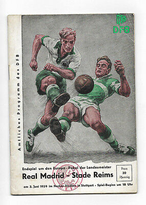1959 European Cup Final - REAL MADRID v. STADE REIMS