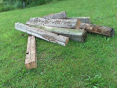 antique hand hewn barn beams D for Fireplace Mantels House Decorations Walls