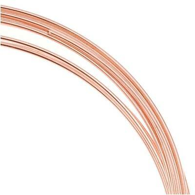 Bright Copper Plated Bracelet Memory Wire 12 Loops