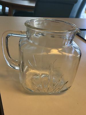 Antique Glass Pitcher Perfect And Lovely