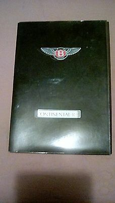 Rolls Royce Bentley Continental R Press Kit