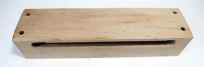 Percussion 1 Sided Wood Block for Drums ~ Looks New - Unknown Manufacturer