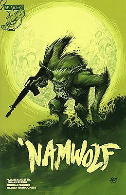 Namwolf #1 1st print Cover B Eric Powell variant Albatross Sold Out