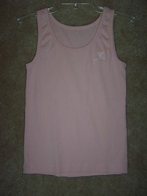 Dance Ballet Pink Capezio Tank Top Youth Large Adult Small Exercise Workout