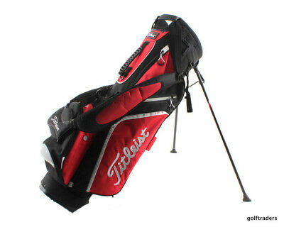Titleist Stand Bag Black/red/white - Like New #d5633