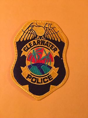 Clearwater Florida  Police  Shoulder Patch