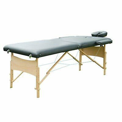"Soozier 2.5"" Pad 91"" Portable Massage Table Facial SPA Bed Tattoo w/ Carry Bag"