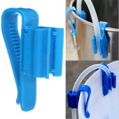 2pc Syphon Tube Clip Auto Flow Control Homebrew Canes beer Making Clamp Holder Q