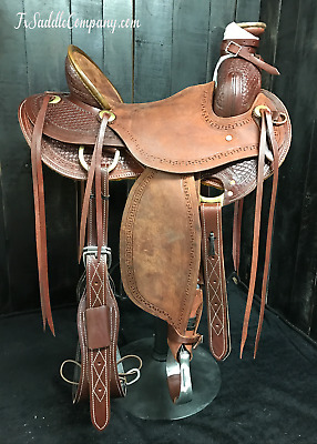 CUSTOM ASSOCIATION ROPING Saddle - Ranch/Wade/Training - Made for YOU!!