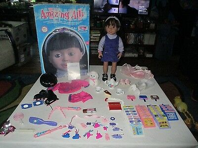 Amazing ALLY Doll By Playmates Roller Blading Ballerina Outfits Cat Accessories