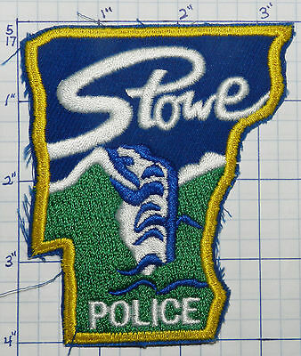 Vermont, Stowe Police Dept Version 2 Patch
