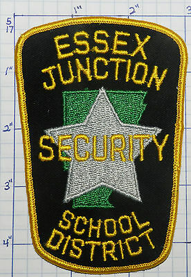 Vermont, Essex Junction School District Security Police Patch