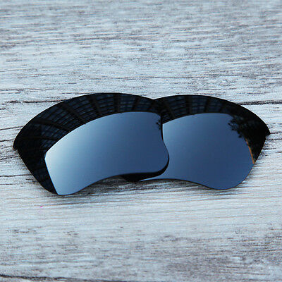 Inew Black Iridium polarized Replacement Lenses for Oakley Flak Jacket XLJ