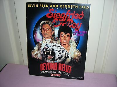 Siegfried & Roy Superstars of Magic - Irvin Feld and Kenneth Feld Present ...