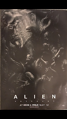 Alien:Covenant Original UK Odeon Cinema Poster, 20 x 39 inches, NEW