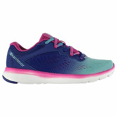 Karrimor Kids Velox Junior Girls Running Lace Up Shoes Textile Breathable