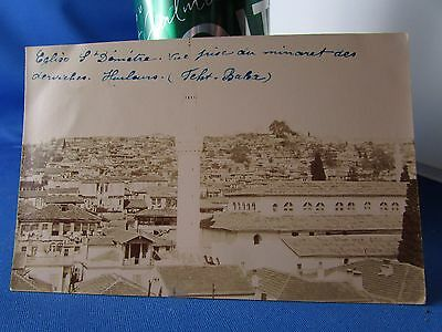 cpa photo salonique 1917 greece grece st demetre le minaret derviches fehti