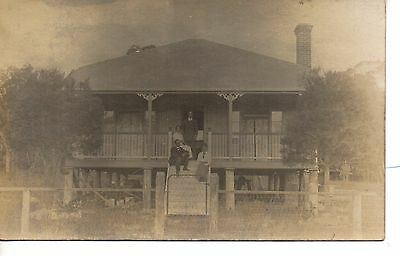 Fine Griff and Martha's House, Cambrian Orchard,Thulimbah,Queensland 3 RPPC.1916