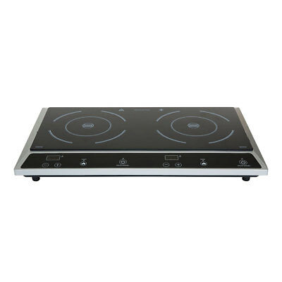 Vonshef Digital 2800w Twin Double Induction Hob Electric