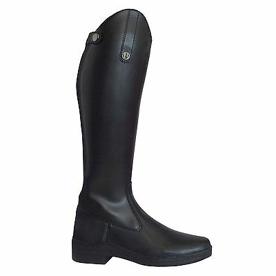 Brogini Unisex Modena Long Riding Boots Shoes Everyday Equestrian Elastic Panels