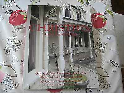 Christies Catalogue Oak Country Furniture Folk Art + Fernyhough Collection Jul03