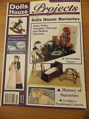 Dolls House Projects Magazine Vol 2 Issue 1 DOLLS HOUSE NURSERIES  Free UK P&P