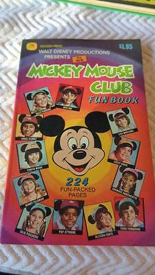 Walt Disney * The New * Mickey Mouse Club Fun Book 1952 Golden Press