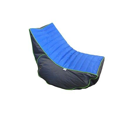 Boscoman - Cory Teen Lounger / Gaming Chair Bean Bag - Blue