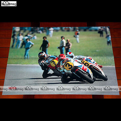 KENNY ROBERTS, FREDDIE SPENCER & BARRY SHEENE Argentine 1982  Poster MOTO #PM564