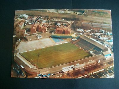 "MILLWALL FOOTBALL CLUB  THE DEN  Aerial view  1980s ?    6""x4""  Photo REPRINT"