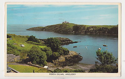 North Wales postcard PORTH EILIAN, ANGLESEY 1973 by Colourmaster